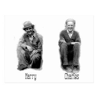 Harry - Charles Postcard