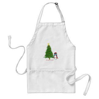Harry Decorates his Christmas Tree Standard Apron