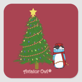 Harry Decorates his Christmas Tree Stickers