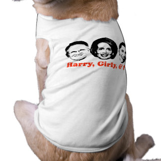 Harry, Girly, and O red Doggie T-shirt