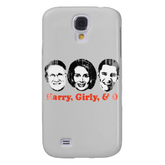 Harry, Girly, and O red Faded.png Galaxy S4 Cases