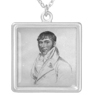 Harry Harmer, engraved by Hopwood Silver Plated Necklace