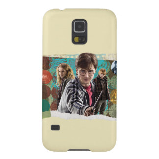 Harry, Hermione, and Ron 1 Galaxy S5 Cases