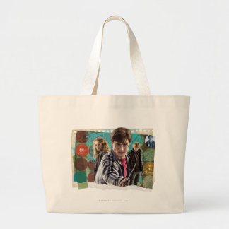 Harry, Hermione, and Ron 1 Jumbo Tote Bag