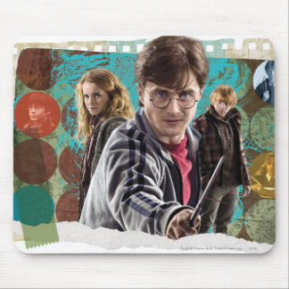 Harry Hermione and Ron 1 Mouse Pads