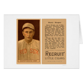 Harry Hooper Red Sox Baseball 1912 Card