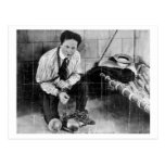 Harry Houdini About to Escape from Prison Post Card