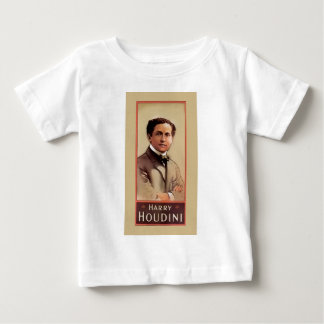 Harry Houdini Illusionist ~ Magician ~ Escapologis Baby T-Shirt