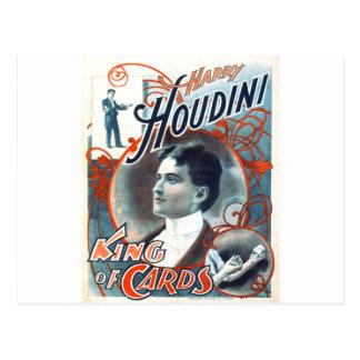 Harry Houdini Postcard