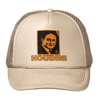 Harry Houdini Poster T shirts, Mugs, Gifts Mesh Hats