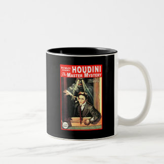 Harry Houdini Pulp Fiction Style Illustration Mugs