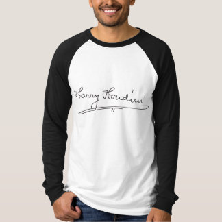 Harry Houdini Signature T-Shirt
