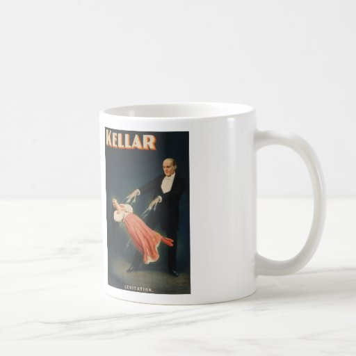 """Harry Kellar, """"Levitation"""" Coffee Mugs"""