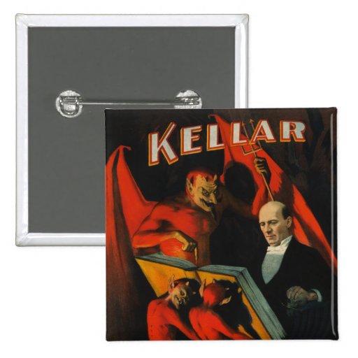 Harry Kellar Poster Button