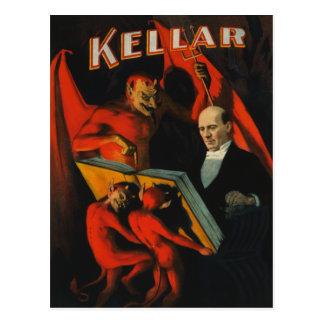 Harry Kellar Poster Postcard