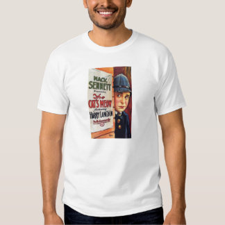 Harry Langdon 1924 silent movie color poster T Shirts
