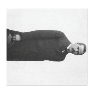 Harry Longabaugh Sundance Kid Portrait Gallery Wrapped Canvas