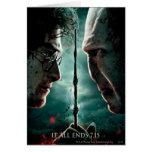 Harry Potter 7 Part 2 - Harry vs. Voldemort Card