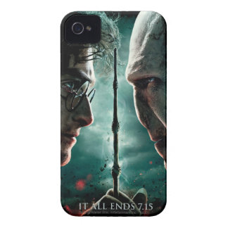 Harry Potter 7 Part 2 - Harry vs. Voldemort iPhone 4 Cover