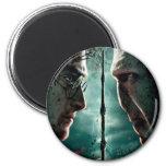 Harry Potter 7 Part 2 - Harry vs. Voldemort Refrigerator Magnets