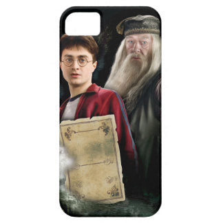 Harry Potter and Dumbledore Barely There iPhone 5 Case