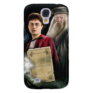 Harry Potter and Dumbledore Galaxy S4 Case