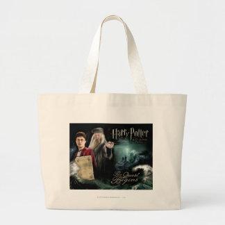 Harry Potter and Dumbledore Jumbo Tote Bag