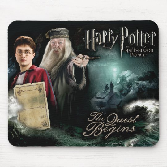 Harry Potter and Dumbledore Mouse Mat