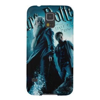 Harry Potter and Dumbledore on rocks 1 Galaxy S5 Covers