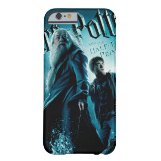 Harry Potter and Dumbledore on rocks 1 Barely There iPhone 6 Case