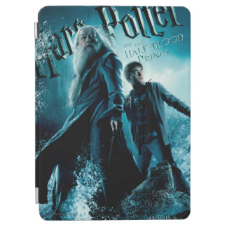 Harry Potter and Dumbledore on rocks 1 iPad Air Cover