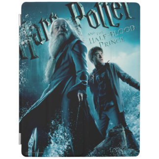 Harry Potter and Dumbledore on rocks 1 iPad Cover