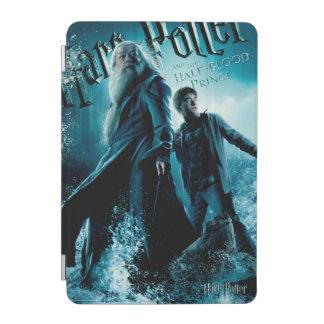 Harry Potter and Dumbledore on rocks 1 iPad Mini Cover