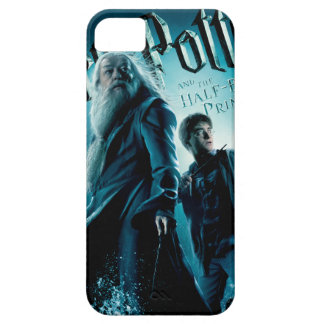 Harry Potter and Dumbledore on rocks 1 iPhone 5 Cases