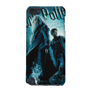 Harry Potter and Dumbledore on rocks 1 iPod Touch (5th Generation) Covers