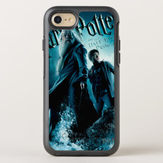 Harry Potter and Dumbledore on rocks 1 OtterBox Symmetry iPhone 7 Case