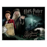 Harry Potter and Dumbledore Poster