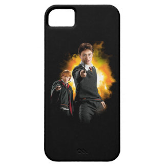 Harry Potter and Ron Weasely iPhone 5/5S Cases