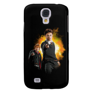 Harry Potter and Ron Weasely Galaxy S4 Case