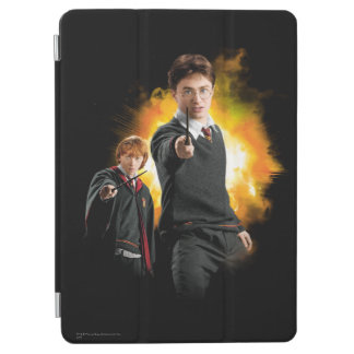 Harry Potter and Ron Weasely iPad Air Cover
