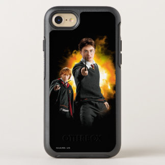 Harry Potter and Ron Weasely OtterBox Symmetry iPhone 7 Case