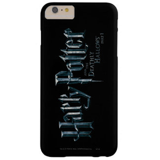 Harry Potter and the Deathly Hallows Logo 1 2 Barely There iPhone 6 Plus Case