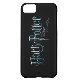Harry Potter and the Deathly Hallows Logo 1 2 iPhone 5C Cases