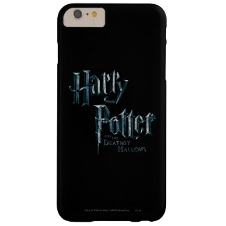Harry Potter and the Deathly Hallows Logo 1 Barely There iPhone 6 Plus Case