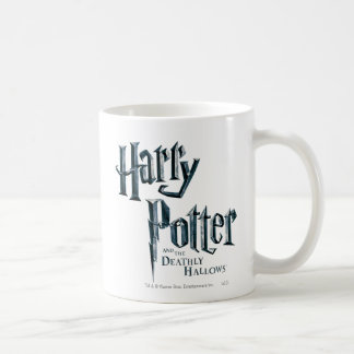 Harry Potter and the Deathly Hallows Logo 1 Basic White Mug