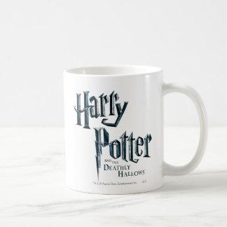 Harry Potter and the Deathly Hallows Logo 1 Basic White Mug
