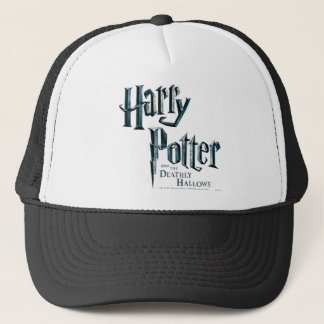Harry Potter and the Deathly Hallows Logo 1 Trucker Hat