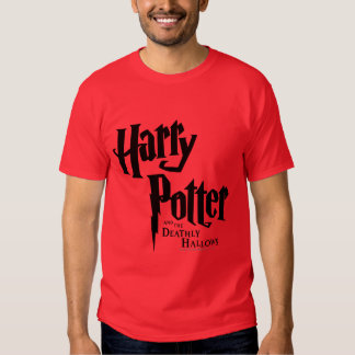 Harry Potter and the Deathly Hallows Logo 2 T-shirts