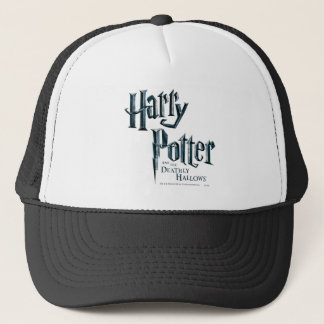 Harry Potter and the Deathly Hallows Logo 3 Trucker Hat