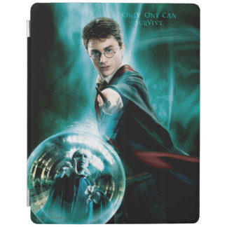 Harry Potter and Voldemort Only One Can Survive iPad Cover